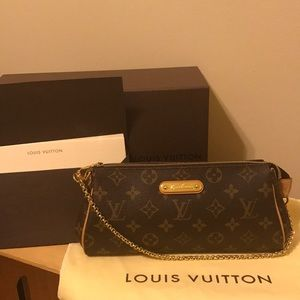 Authentic Louis Vuitton Monogram Eva Clutch